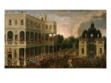 Le Banquet Des Amazones (The Amazons' Banquet) Giclee Print by Claude Deruet