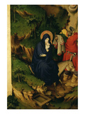 The Flight into Egypt, from Retable of the Life of Jesus, from the Charterhouse, Champmol, France Giclee Print by Melchior Broederlam