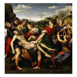 The Deposition of Christ, 1507 Giclee Print by  Raphael