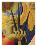 Deposition of Christ 1435 Detail of Nails Symbol of Passion Giclee Print by Fra Angelico