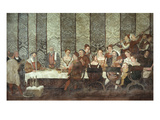Banquet Given by Bartolomeo Colleoni, 1400-76 Giclee Print by Marcello Fogolino