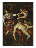 Judith and Holofernes, 1590 Giclee Print by Domenico Robusti