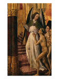 The Just Entering Paradise, from Polyptych of Last Judgement, Polyptychal Retable (Open) Giclee Print by Rogier van der Weyden