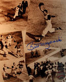 Bill Mazeroski Signed Collage Vertical Photo