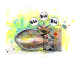 Lora Zombie - Blah Sběratelské reprodukce