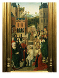 Resurrection of Lazarus Giclee Print by  Master of the Tiburtine Sibyl