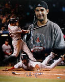 Mike Lowell 2007 World Series MVP Collage Autographed Photo (Hand Signed Collectable) Photo