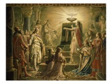 Temple of the Holy Grail, Final Scene from Parsifal, Opera by Richard Wagner, 1813-83 Impression giclée par Wilhelm Hauschild
