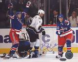 Brendan Shanahan Celebrates Career Goal 600 Autographed Photo (Hand Signed Collectable) Photo