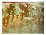 The Last Judgement, Hell, 15th Century Fresco, &quot;The Poor Man&#39;s Bible&quot; Giclee Print by Francesco &amp; Sperindio Cagnola
