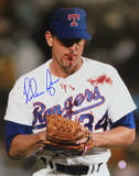 Nolan Ryan Signed Blood Photo Photo
