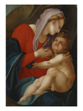 Virgin and Child, Called with Milk, 16th Century Giclee Print by Jacopo da Carucci Pontormo