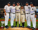 Yankees Final Game at Yankee Stadium Perfect Game Battery Mates w/ PG Insc. Photo