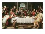 Last Supper Giclee Print by Juan Juanes