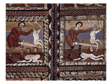 Massacre of the Innocents, Painted Wooden Ceiling, C.1150, Church of St Martin, Zillis, Switzerland Giclee Print