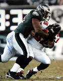 Jeremiah Trotter Tackle Vs. Falcons Photo