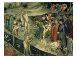 Saint John the Baptist Baptising, 1416 Fresco Giclee Print by Lorenzo & Jacopo Salimbeni