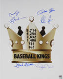 Baseball Kings Multi Signed Vertical  LE/24 Photo