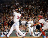 David Ortiz Swing vs Angels Photographie