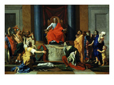 Le Jugement De Salomon (The Judgement of Solomon) Giclee Print by Nicolas Poussin