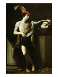 David with Head of Goliath Giclee Print by Guido Reni