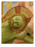 Deposition of Christ 1435 Detail of Face of Christ Giclee Print by  Fra Angelico