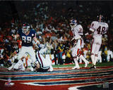 Ken Regan Signed Mark Bavaro SB XXI TD Celebration- Pointing Horizontal Photo