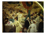 Theatre in Orange, France, 1905 Giclee Print by Albert Maignan