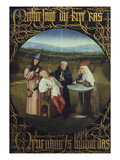 The Cure for Folly or Extraction of Stone from Madman 1475-80 Premium Giclee Print by Hieronymus Bosch