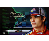 Jeff Gordon Signed Career Accomplishments 11x19 Panoramic Photo