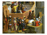 Procession of Soldiers, Passion of Christ, Detail Giclee Print by Hans Memling