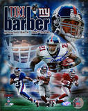 Tiki Barber Legends Collage Signed Photo