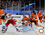 Brad Richards Game Tying Goal vs Washington Capitals Signed Photo