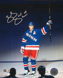 Brendan Shanahan Autographed Salute The New York Crowd Photo