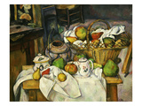 Nature Morte Au Panier 1888-90 (Still Life with Basket) Giclee Print by Paul Cézanne