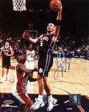 Jason Kidd Nets Lay-up vs. the Warriors Foto