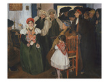 Wedding at Ansó, 1904 Giclee Print by Vazquez Carlos Ubeda