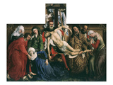 Descent from the Cross, 1435 Giclee Print by Rogier van der Weyden
