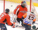 Bill Guerin Goal vs Capitals Autographed Photo (Hand Signed Collectable) Photo