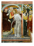 Christ in Front of the High Priest, Saint Peter and the Servant Girl, 15th Century Giclee Print by Francesco &amp; Sperindio Cagnola