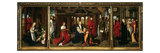 The Nativity, Adoration of the Magi and Presentation in Temple, Triptych Giclee Print by Hans Memling