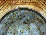 Constellations and Signs of Zodiac, Fresco, Ceiling Vault, Old Library Photographic Print by Fernando Gallego