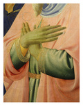 Deposition of Christ 1435 Detail of Hands Crossed in Sign of Devotion Giclee Print by Fra Angelico