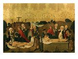 Christ's Deposition from the Cross and in the Sepulchre, 1462-4 Giclee Print by Gaspard Isenmann