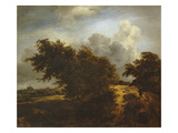 The Bush, or Path Among the Haarlem Dunes, C.1649 Premium Giclee Print by Jacob van Ruisdael