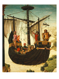 Caravel, the Argonauts' Ship, Undated, Detail Giclee Print by Lorenzo Costa