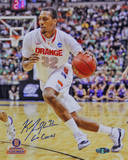 "Kris Joseph Syracuse White Jersey Drive ""Go Cuse"" Insc. Autographed Photo (H& Signed Collectable) Photographie"