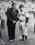 Yogi Berra with Babe Ruth Photographie