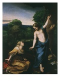 Noli Me Tangere, Touch Me Not, Risen Christ Appears to Mary Magdalene, 1525 Giclee Print by Antonio Allegri Da Correggio