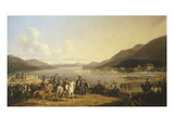 Fighting at Salo, Italy, July 31, 1796 Giclee Print by Hippolyte Lecomte